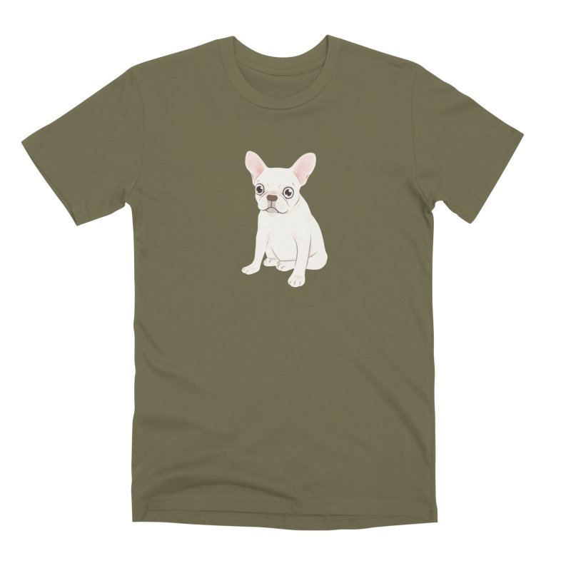 Sweet Cream French Bulldog Wants Your Pet Men's Premium T-Shirt by Emotional Frenchies - Cute French Bulldog T-shirts