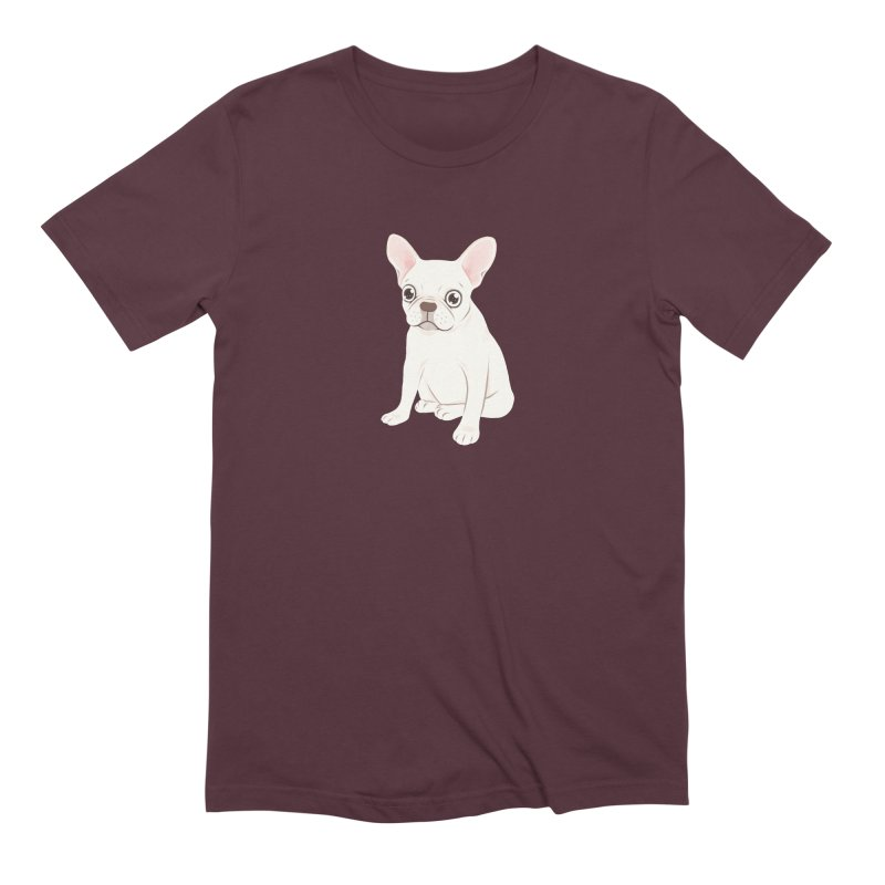 Sweet Cream French Bulldog Wants Your Pet Men's Extra Soft T-Shirt by Emotional Frenchies - Cute French Bulldog T-shirts