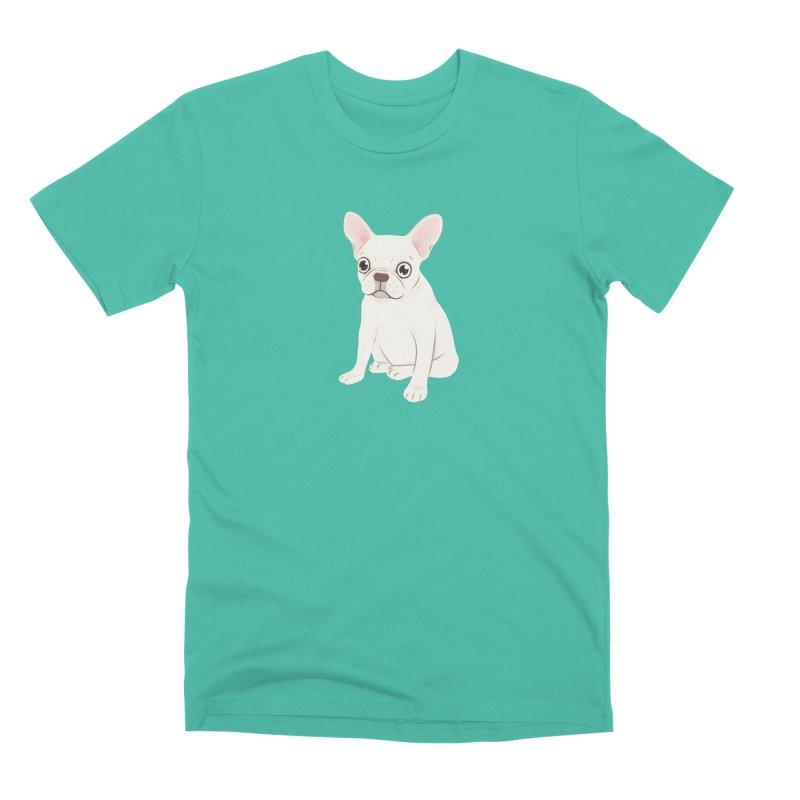 Sweet Cream French Bulldog Wants Your Pet Men's Premium T-Shirt by Emotional Frenchies - Cute French Bulldog T-shirts