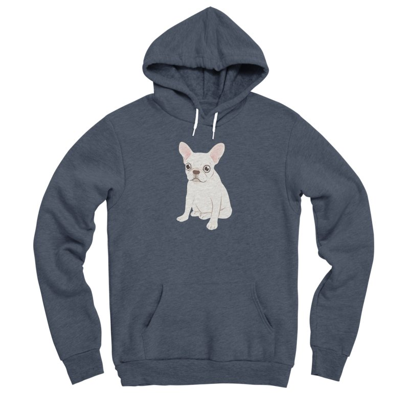 Sweet Cream French Bulldog Wants Your Pet Women's Sponge Fleece Pullover Hoody by Emotional Frenchies - Cute French Bulldog T-shirts