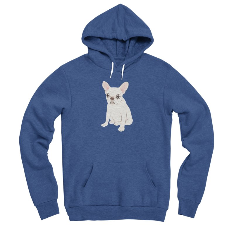 Sweet Cream French Bulldog Wants Your Pet Men's Sponge Fleece Pullover Hoody by Emotional Frenchies - Cute French Bulldog T-shirts