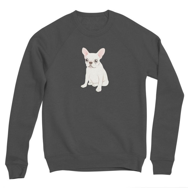 Sweet Cream French Bulldog Wants Your Pet Men's Sponge Fleece Sweatshirt by Emotional Frenchies - Cute French Bulldog T-shirts