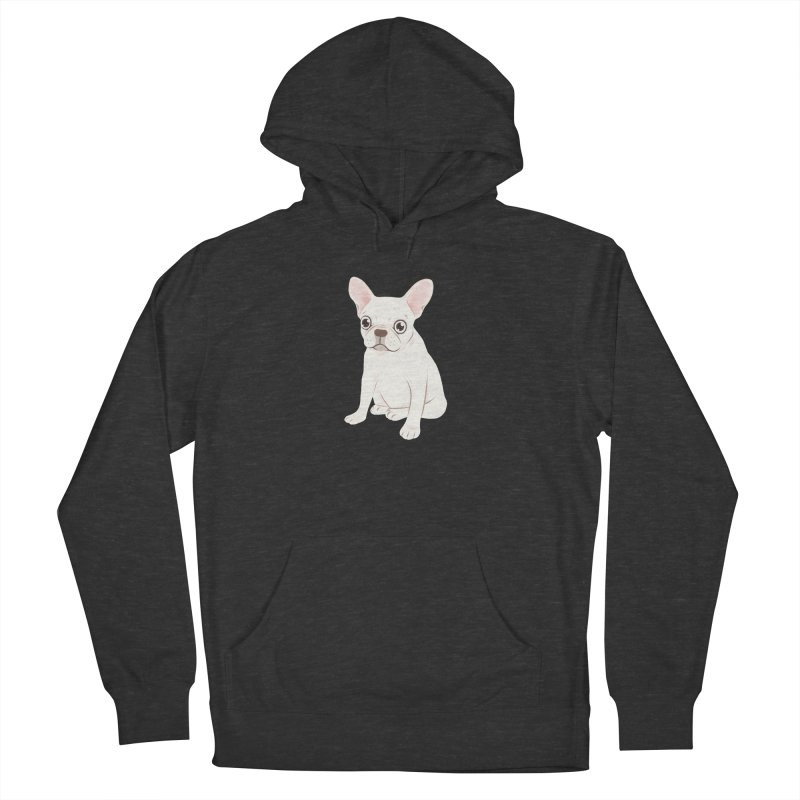 Sweet Cream French Bulldog Wants Your Pet Women's French Terry Pullover Hoody by Emotional Frenchies - Cute French Bulldog T-shirts