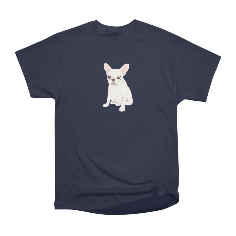 Sweet Cream French Bulldog Wants Your Pet Women's Heavyweight Unisex T-Shirt by Emotional Frenchies - Cute French Bulldog T-shirts