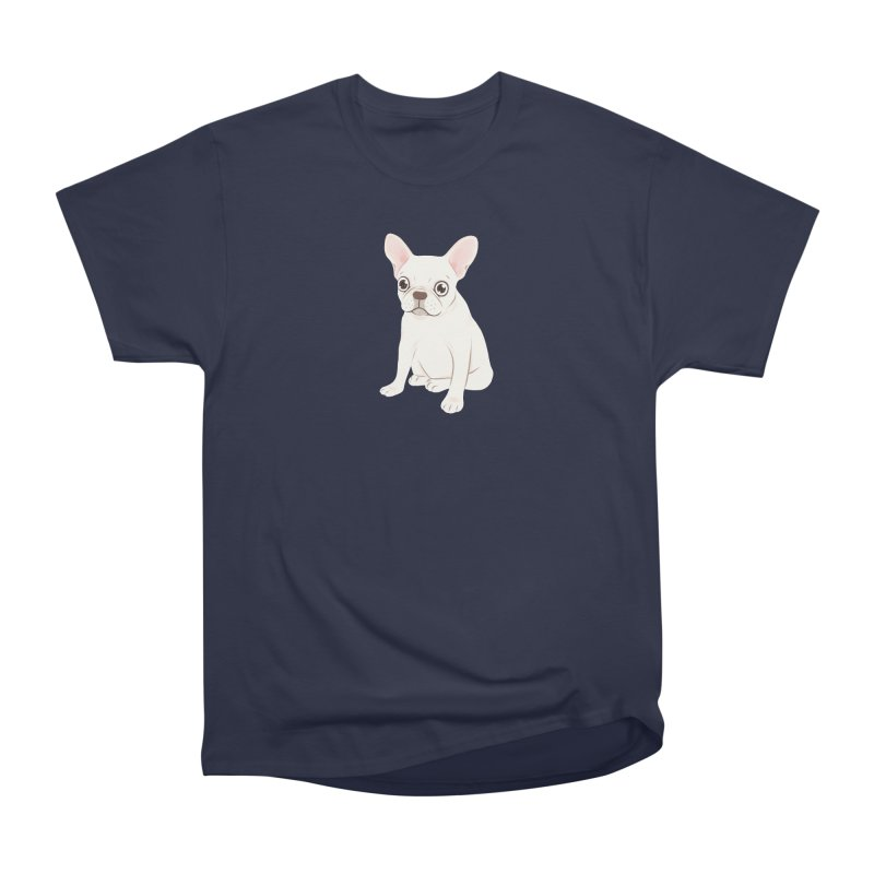 Sweet Cream French Bulldog Wants Your Pet Men's Heavyweight T-Shirt by Emotional Frenchies - Cute French Bulldog T-shirts