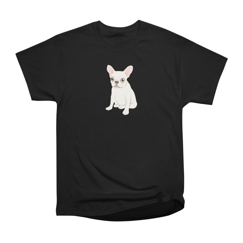Sweet Cream French Bulldog Wants Your Pet Men's Heavyweight T-Shirt by Emotional Frenchies - Cute French Bulldog T-shirts