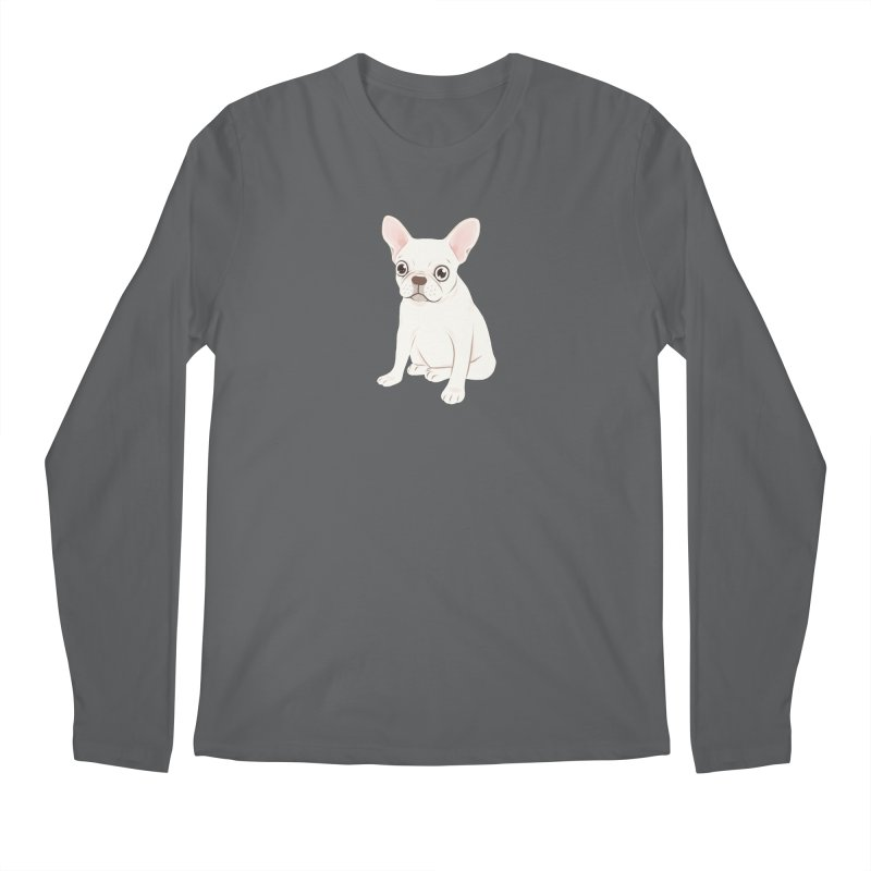 Sweet Cream French Bulldog Wants Your Pet Men's Regular Longsleeve T-Shirt by Emotional Frenchies - Cute French Bulldog T-shirts