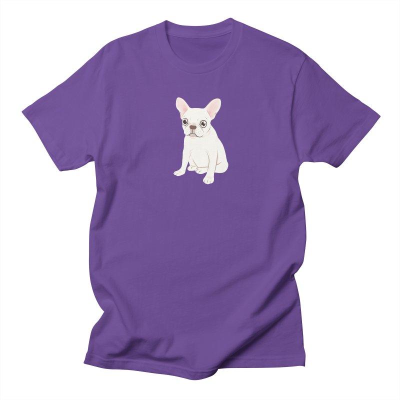 Sweet Cream French Bulldog Wants Your Pet Men's Regular T-Shirt by Emotional Frenchies - Cute French Bulldog T-shirts