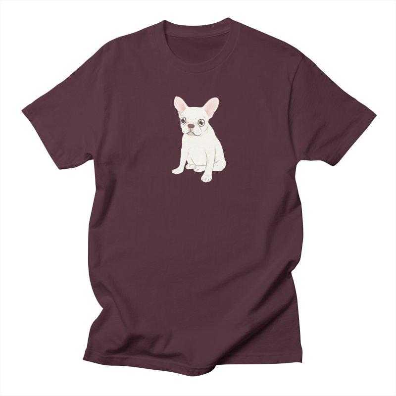 Sweet Cream French Bulldog Wants Your Pet Women's Regular Unisex T-Shirt by Emotional Frenchies - Cute French Bulldog T-shirts