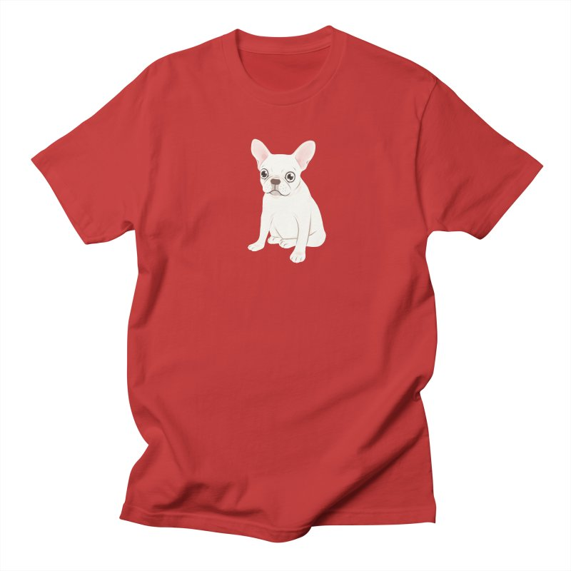 Sweet Cream French Bulldog Wants Your Pet Women's Regular Unisex T-Shirt by Emotional Frenchies - Cute French Bulldog T-shirts
