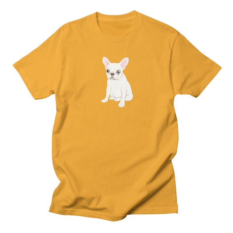 Sweet Cream French Bulldog Wants Your Pet Men's Regular T-Shirt by Emotional Frenchies - Cute French Bulldog T-shirts
