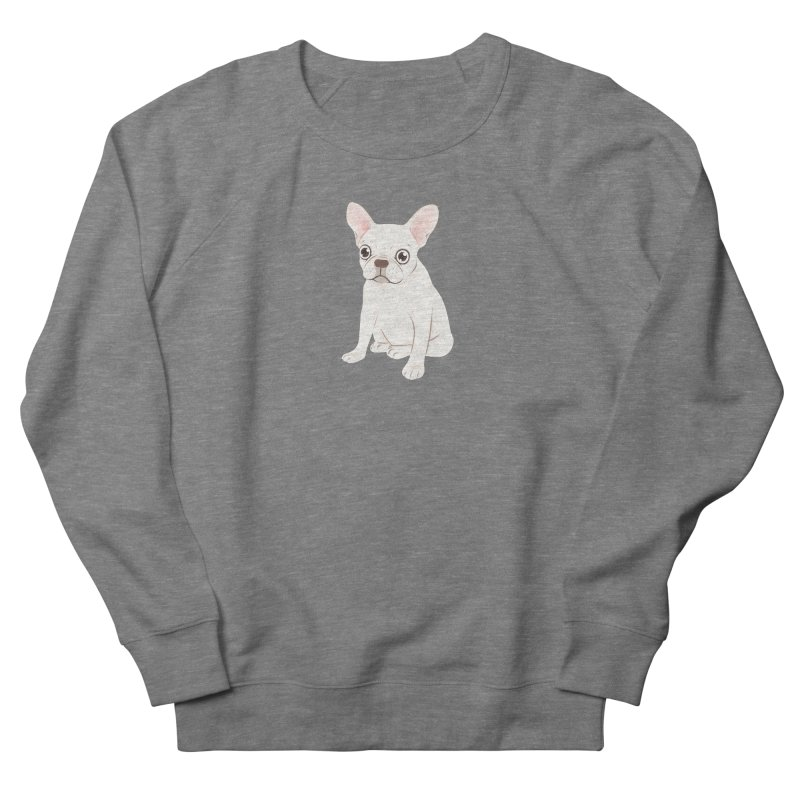 Sweet Cream French Bulldog Wants Your Pet Women's French Terry Sweatshirt by Emotional Frenchies - Cute French Bulldog T-shirts