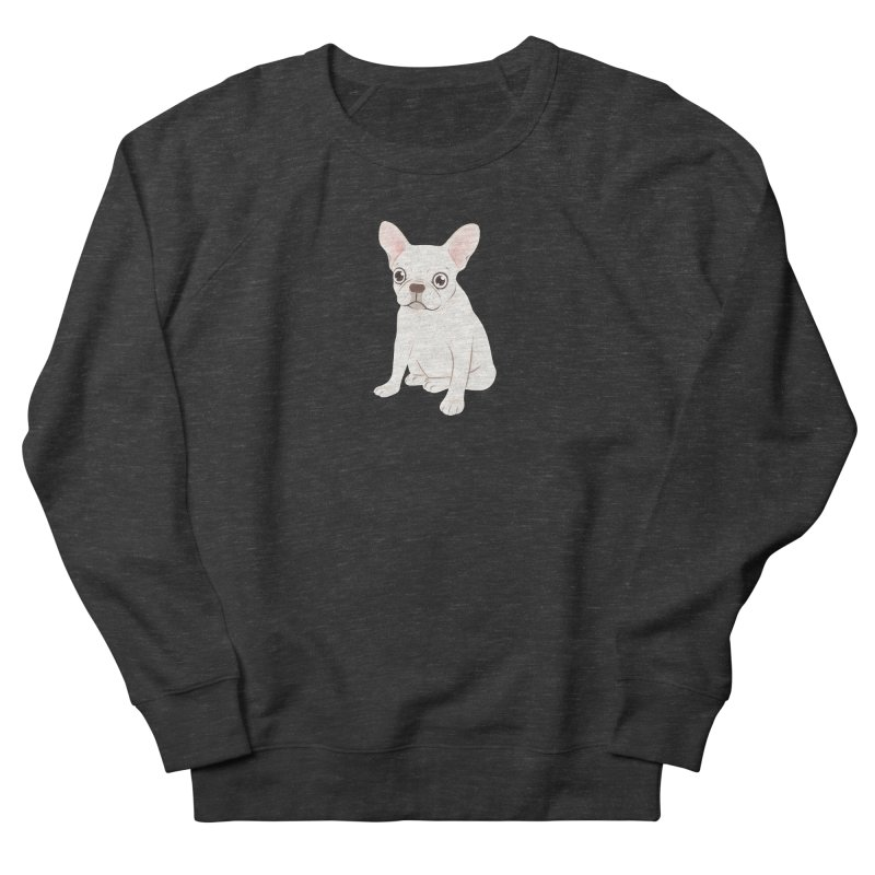 Sweet Cream French Bulldog Wants Your Pet Men's French Terry Sweatshirt by Emotional Frenchies - Cute French Bulldog T-shirts