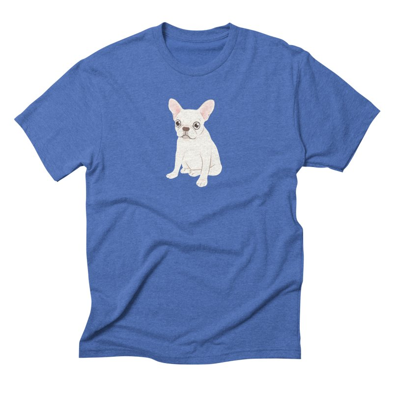 Sweet Cream French Bulldog Wants Your Pet Men's Triblend T-Shirt by Emotional Frenchies - Cute French Bulldog T-shirts