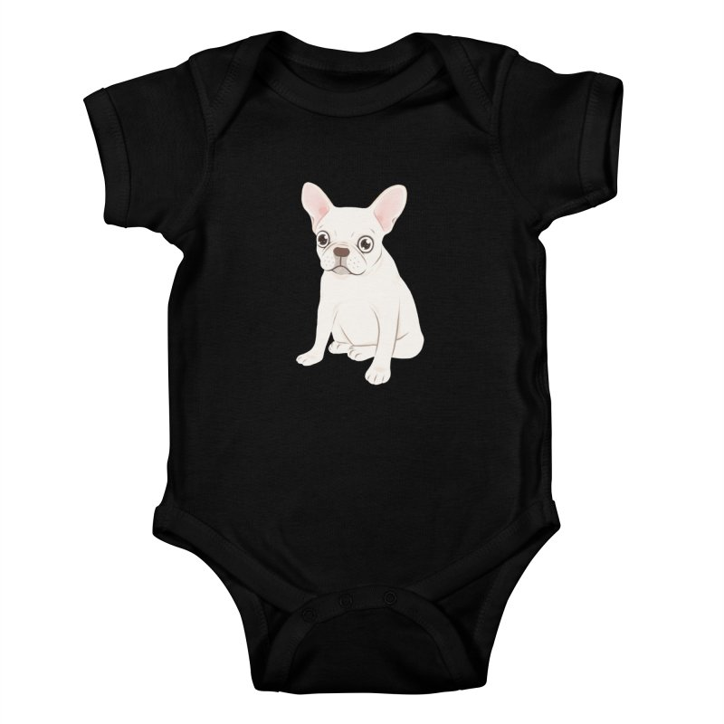 Sweet Cream French Bulldog Wants Your Pet Kids Baby Bodysuit by Emotional Frenchies - Cute French Bulldog T-shirts