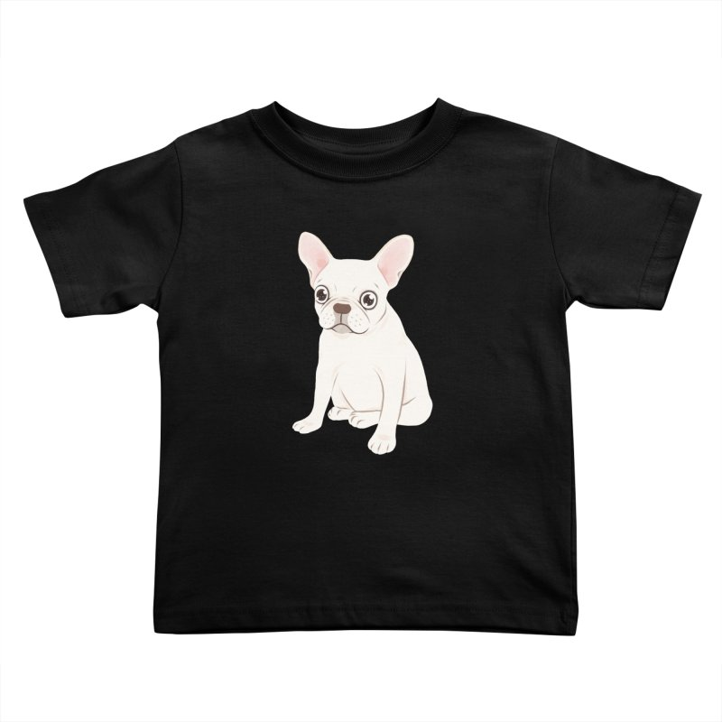 Sweet Cream French Bulldog Wants Your Pet Kids Toddler T-Shirt by Emotional Frenchies - Cute French Bulldog T-shirts