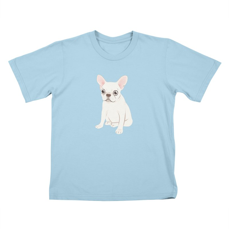 Sweet Cream French Bulldog Wants Your Pet Kids T-Shirt by Emotional Frenchies - Cute French Bulldog T-shirts