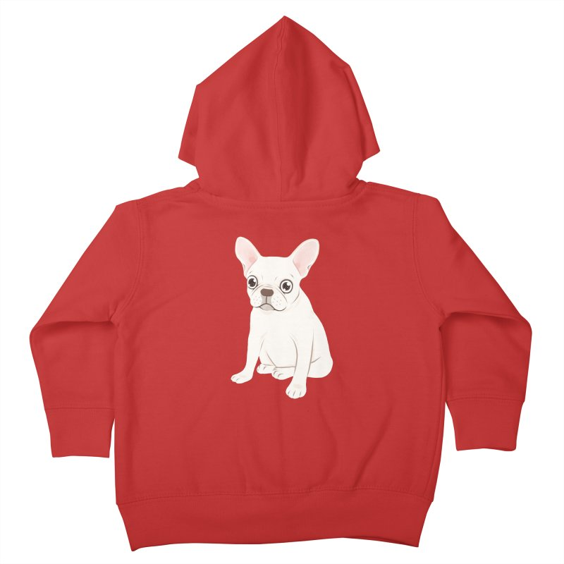 Sweet Cream French Bulldog Wants Your Pet Kids Toddler Zip-Up Hoody by Emotional Frenchies - Cute French Bulldog T-shirts