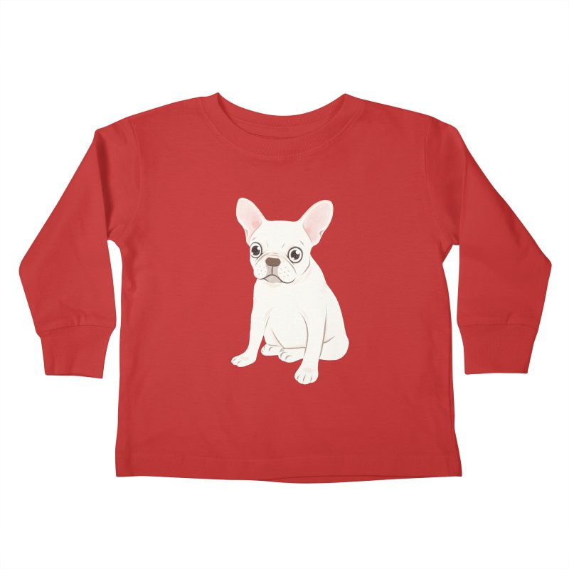 Sweet Cream French Bulldog Wants Your Pet Kids Toddler Longsleeve T-Shirt by Emotional Frenchies - Cute French Bulldog T-shirts