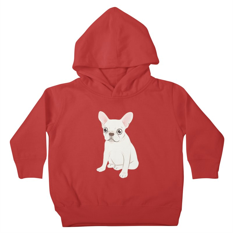 Sweet Cream French Bulldog Wants Your Pet Kids Toddler Pullover Hoody by Emotional Frenchies - Cute French Bulldog T-shirts