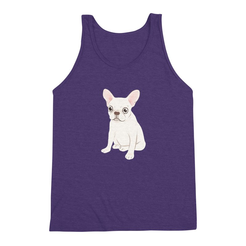 Sweet Cream French Bulldog Wants Your Pet Men's Triblend Tank by Emotional Frenchies - Cute French Bulldog T-shirts
