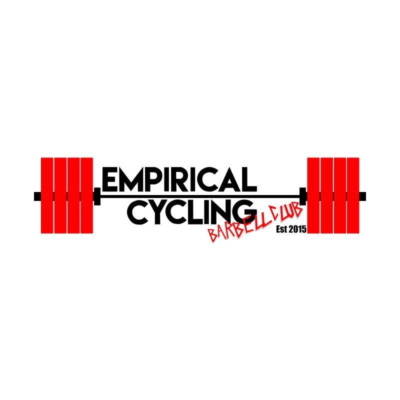 Barbell Club Men's T-Shirt by empiricalcyclingpodcast's Artist Shop