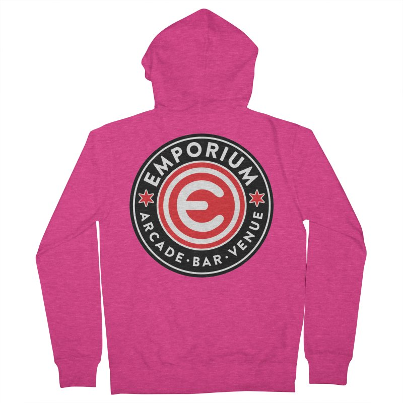 Emporium Chicago Seal Women's Zip-Up Hoody by Emporium Arcade Bar