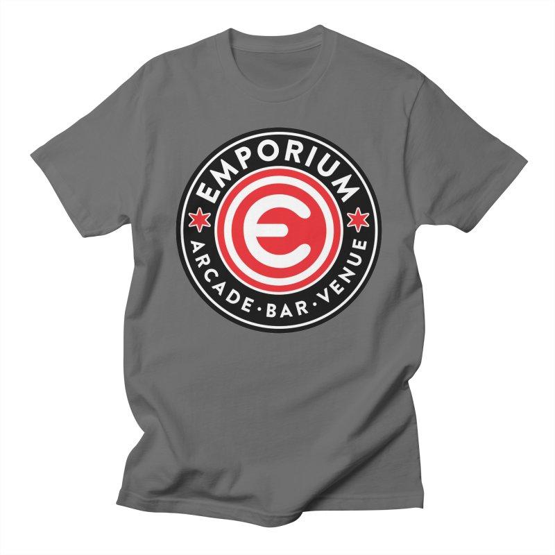 Emporium Chicago Seal Men's Regular T-Shirt by Emporium Arcade Bar