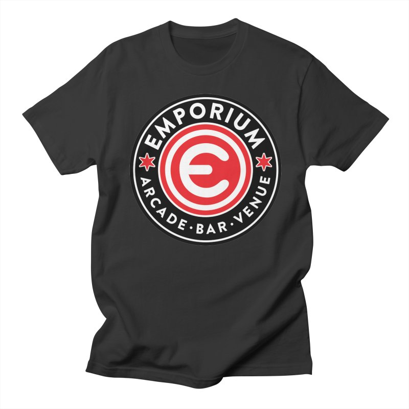 Emporium Chicago Seal Men's Regular T-Shirt by Emporium Arcade Bar