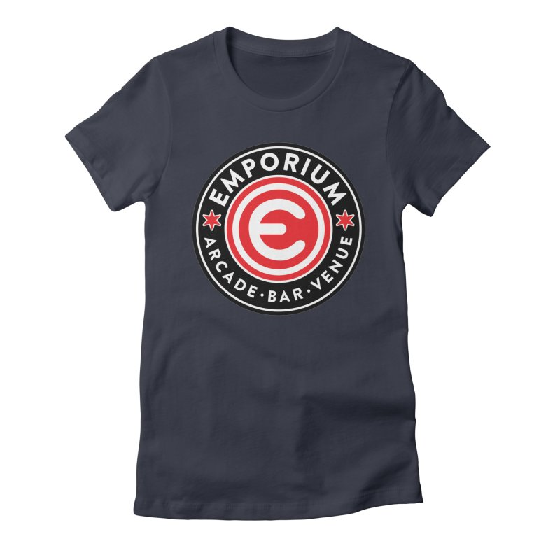 Emporium Chicago Seal Women's Fitted T-Shirt by Emporium Arcade Bar