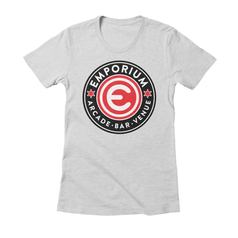 Emporium Chicago Seal Women's Fitted T-Shirt by Emporium Arcade Bar