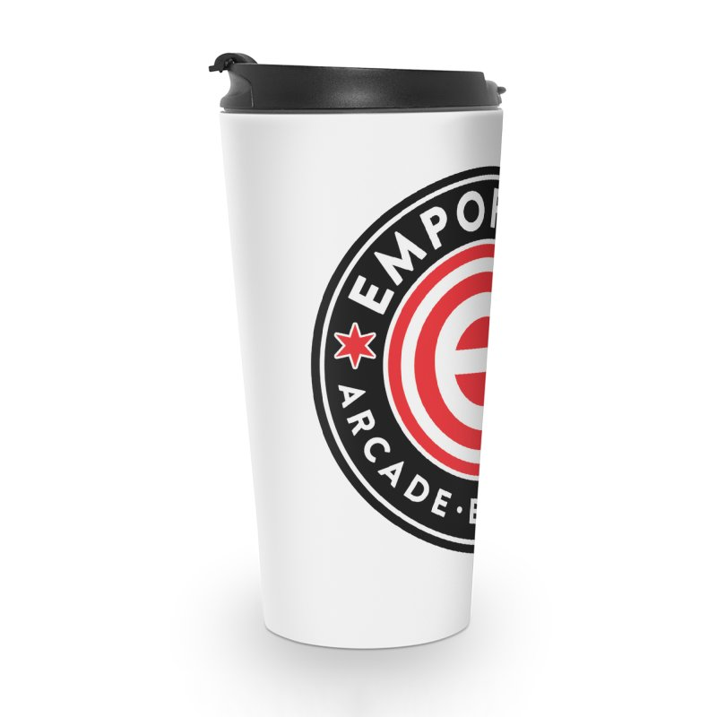 Emporium Chicago Seal Accessories Travel Mug by Emporium Arcade Bar