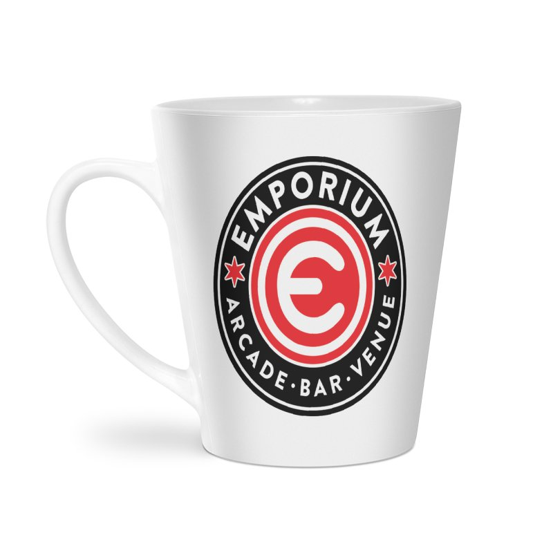 Emporium Chicago Seal Accessories Latte Mug by Emporium Arcade Bar