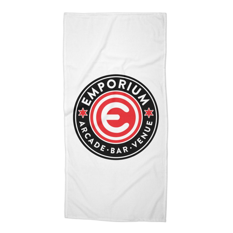Emporium Chicago Seal Accessories Beach Towel by Emporium Arcade Bar
