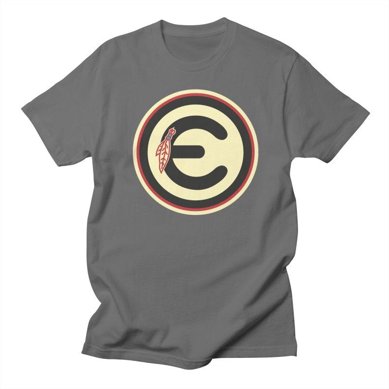 """Emporium """"Go Hawks"""" Logo Men's T-Shirt by Emporium Arcade Bar"""