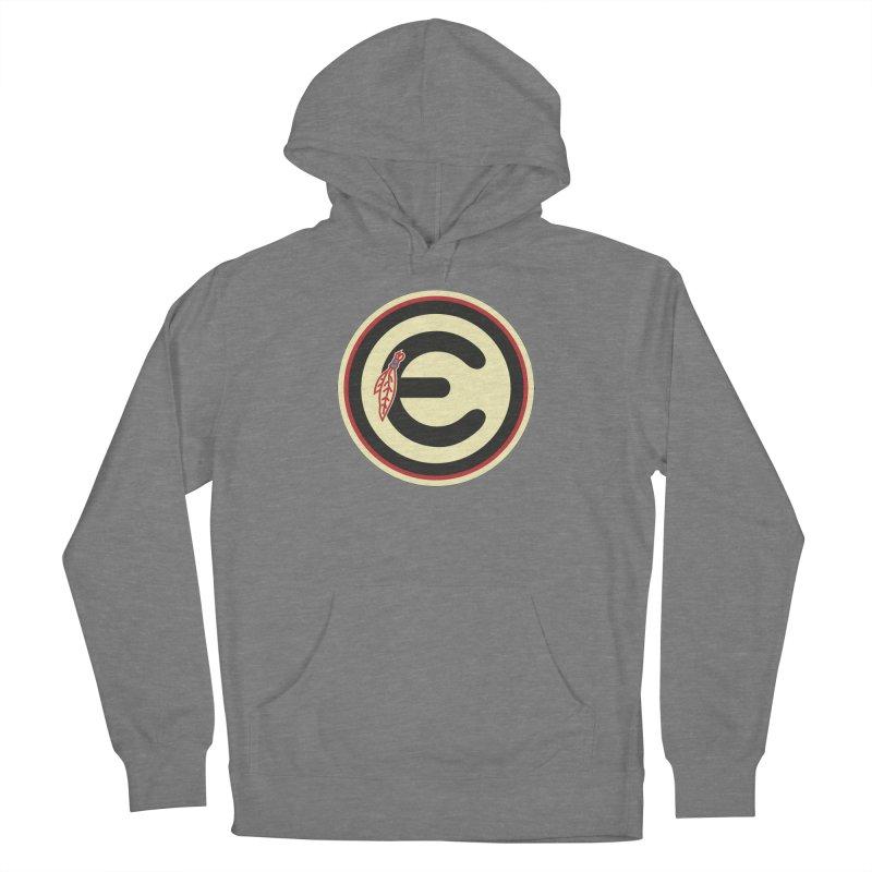 "Emporium ""Go Hawks"" Logo Men's French Terry Pullover Hoody by Emporium Arcade Bar"