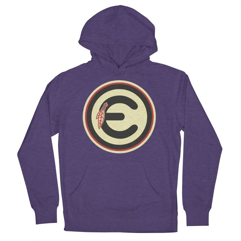 "Emporium ""Go Hawks"" Logo Women's French Terry Pullover Hoody by Emporium Arcade Bar"