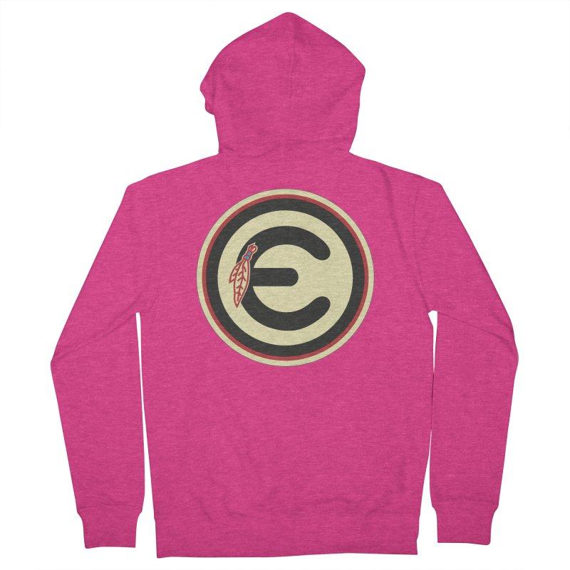 "Emporium ""Go Hawks"" Logo Women's French Terry Zip-Up Hoody by Emporium Arcade Bar"