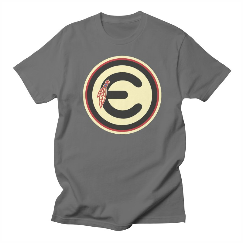 "Emporium ""Go Hawks"" Logo Men's T-Shirt by Emporium Arcade Bar"