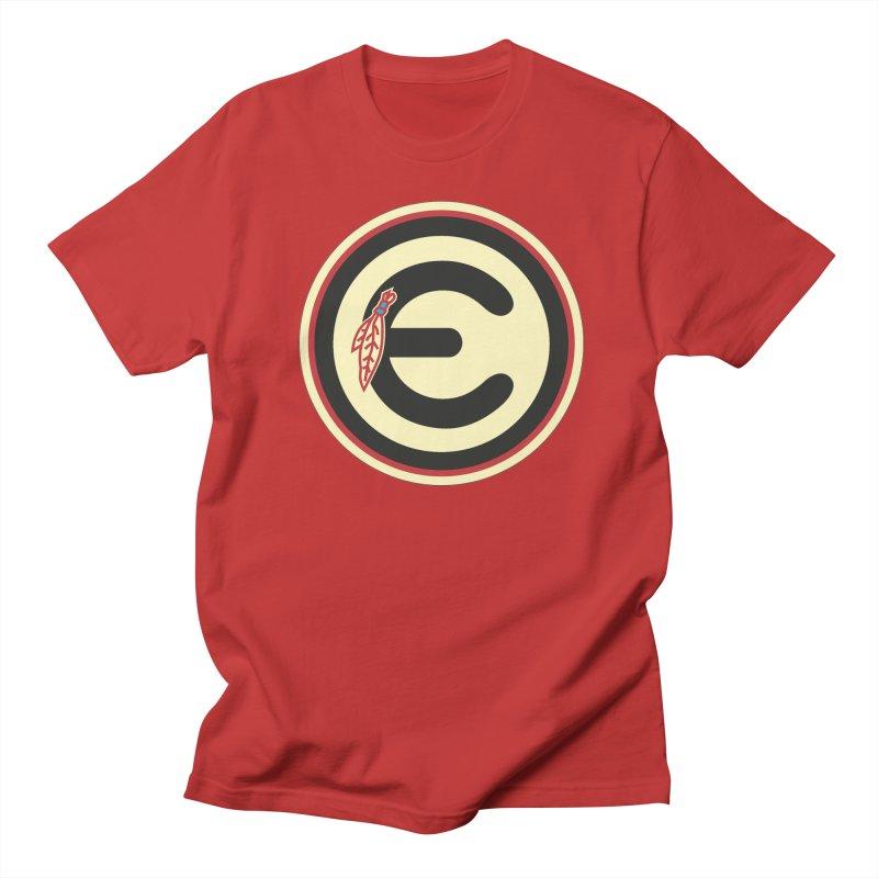 "Emporium ""Go Hawks"" Logo Men's Regular T-Shirt by Emporium Arcade Bar"