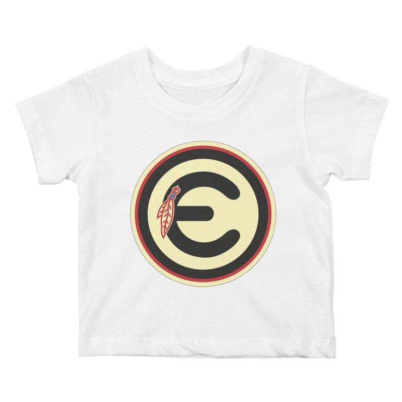 "Emporium ""Go Hawks"" Logo Kids Baby T-Shirt by Emporium Arcade Bar"