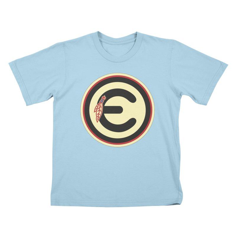 """Emporium """"Go Hawks"""" Logo Kids T-Shirt by Emporium Arcade Bar"""