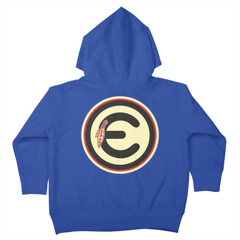 "Emporium ""Go Hawks"" Logo Kids Toddler Zip-Up Hoody by Emporium Arcade Bar"