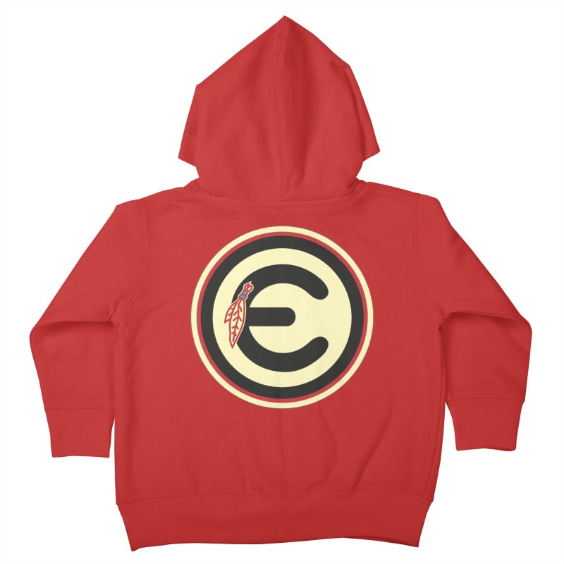 "Emporium ""Go Hawks"" Logo Kids Toddler Zip-Up Hoody by Emporium Arcade Bar"