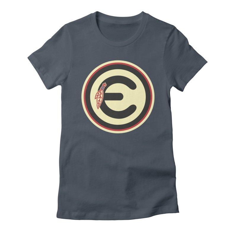 """Emporium """"Go Hawks"""" Logo Women's T-Shirt by Emporium Arcade Bar"""