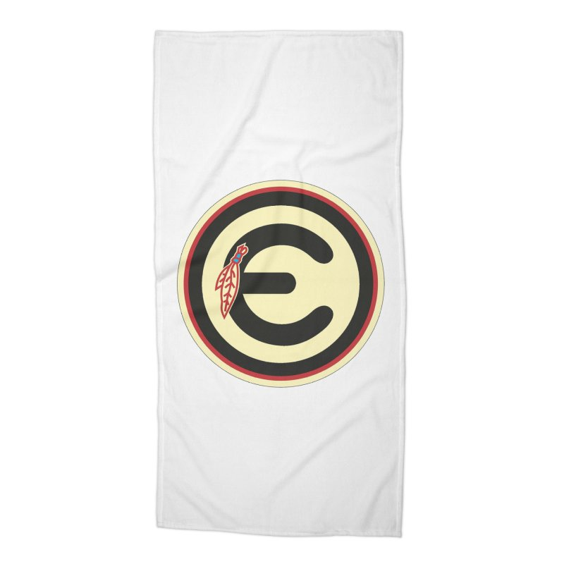 "Emporium ""Go Hawks"" Logo Accessories Beach Towel by Emporium Arcade Bar"