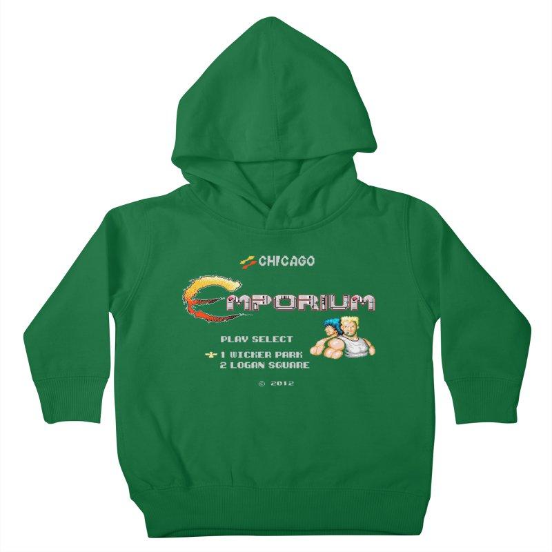 "Emporium ""Contra"" Kids Toddler Pullover Hoody by Emporium Arcade Bar"