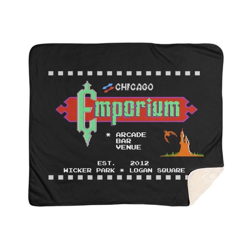 "Emporium ""Castlevania"" Design Home Sherpa Blanket Blanket by Emporium Arcade Bar"