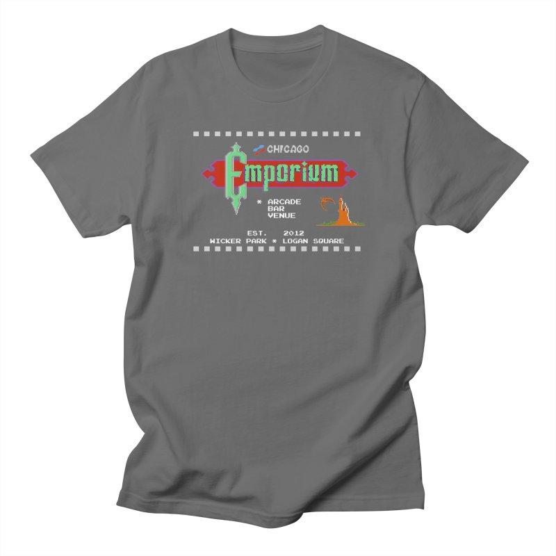 "Emporium ""Castlevania"" Design Men's T-Shirt by Emporium Arcade Bar"