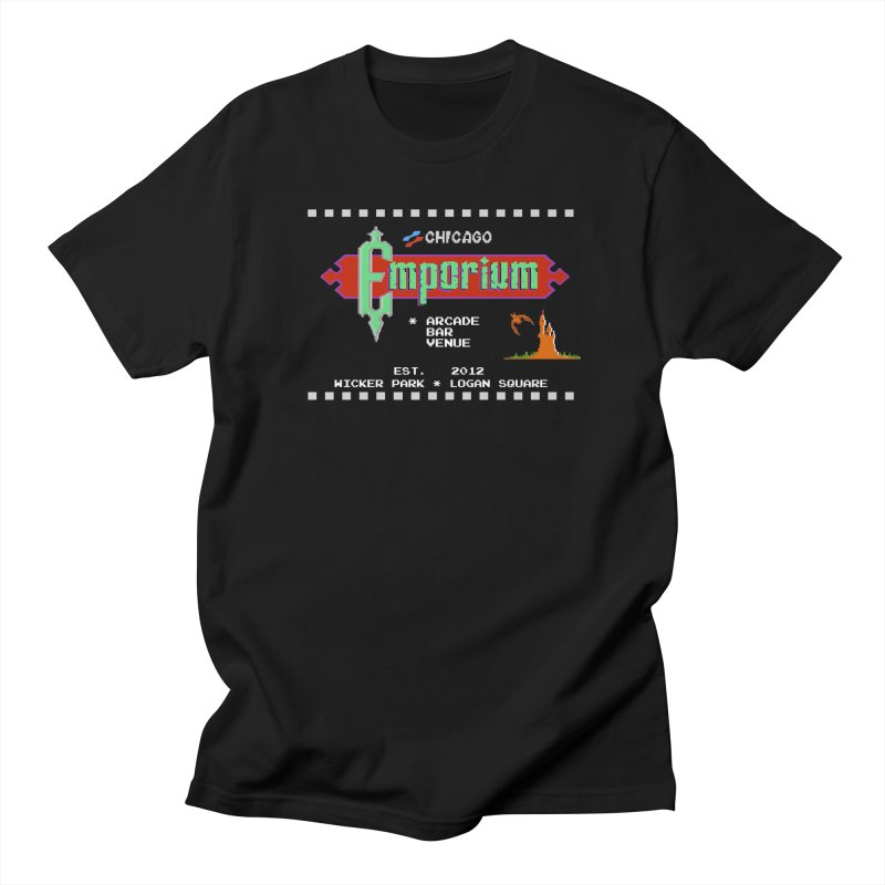 "Emporium ""Castlevania"" Design Men's Regular T-Shirt by Emporium Arcade Bar"